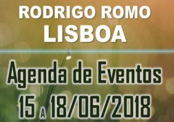 Agenda de Lisboa – Rodrigo Romo – Junio 2018