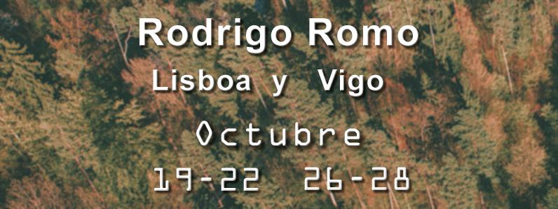 Agenda Península Ibérica – Rodrigo Romo – Octubre 2018